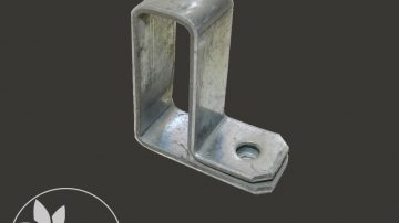 Ventilation Arm-Profile Sid  Flange