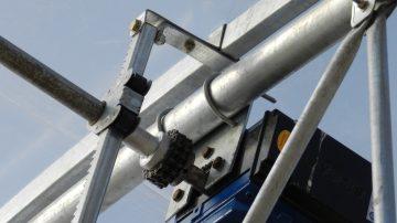 Ventilation Rack & pinion