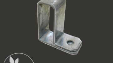 Промежуточный крепеж (болт) для соединения плеча люка с профилем