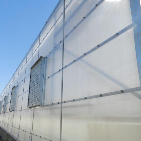 ورق های پلی کربنات دو جداره (هالوشیت)