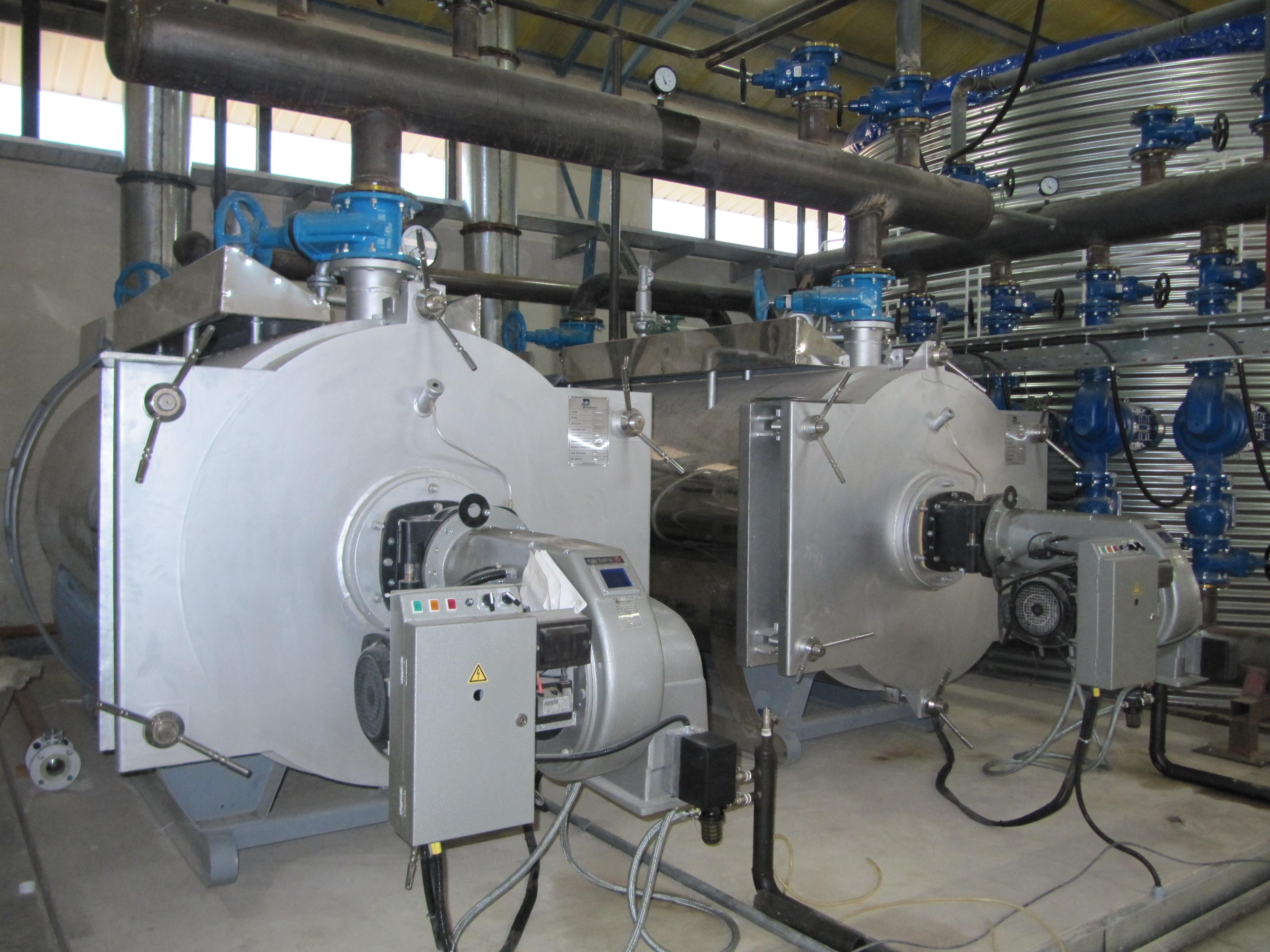 سیستم گرمایشی مرکزی (بویلر آب گرم)