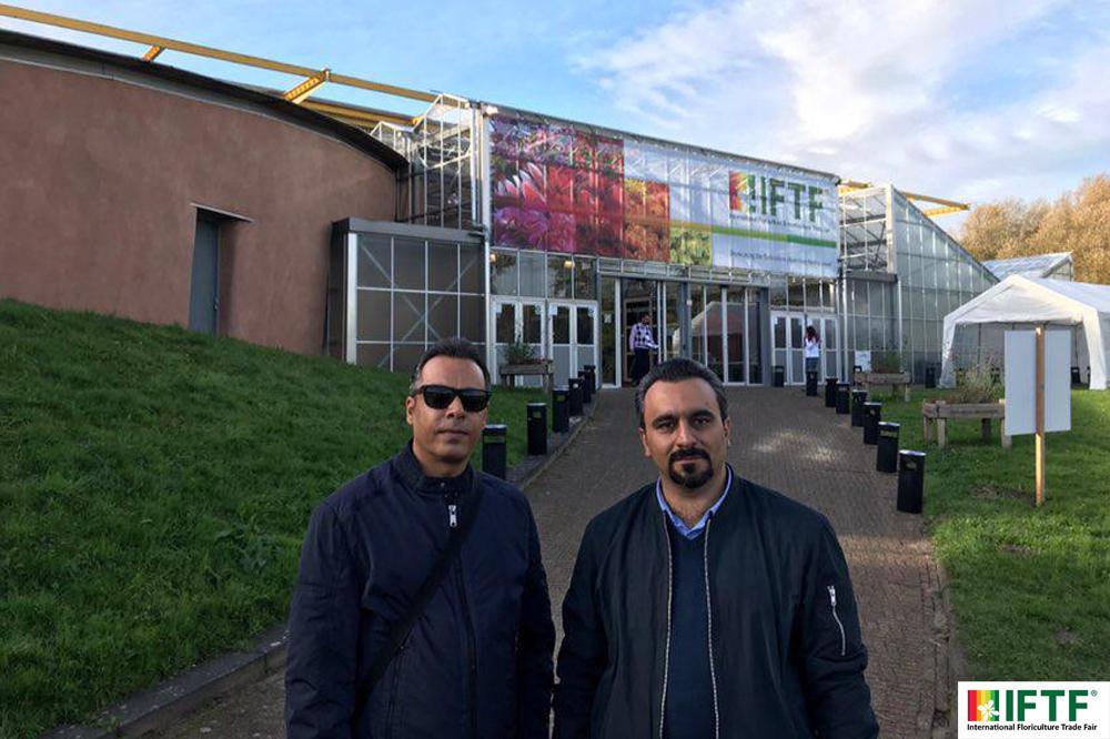 غرفه سدید رویش به عنوان تنها شرکت گلخانهساز ایرانی در نمایشگاه IFTF هلند