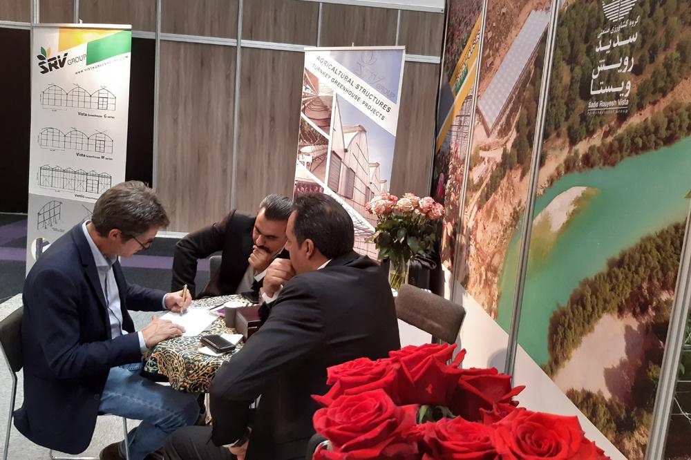 غرفه شرکت سدید رویش ویستا در نمایشگاه IFTF هلند برای دومین سال متوالی